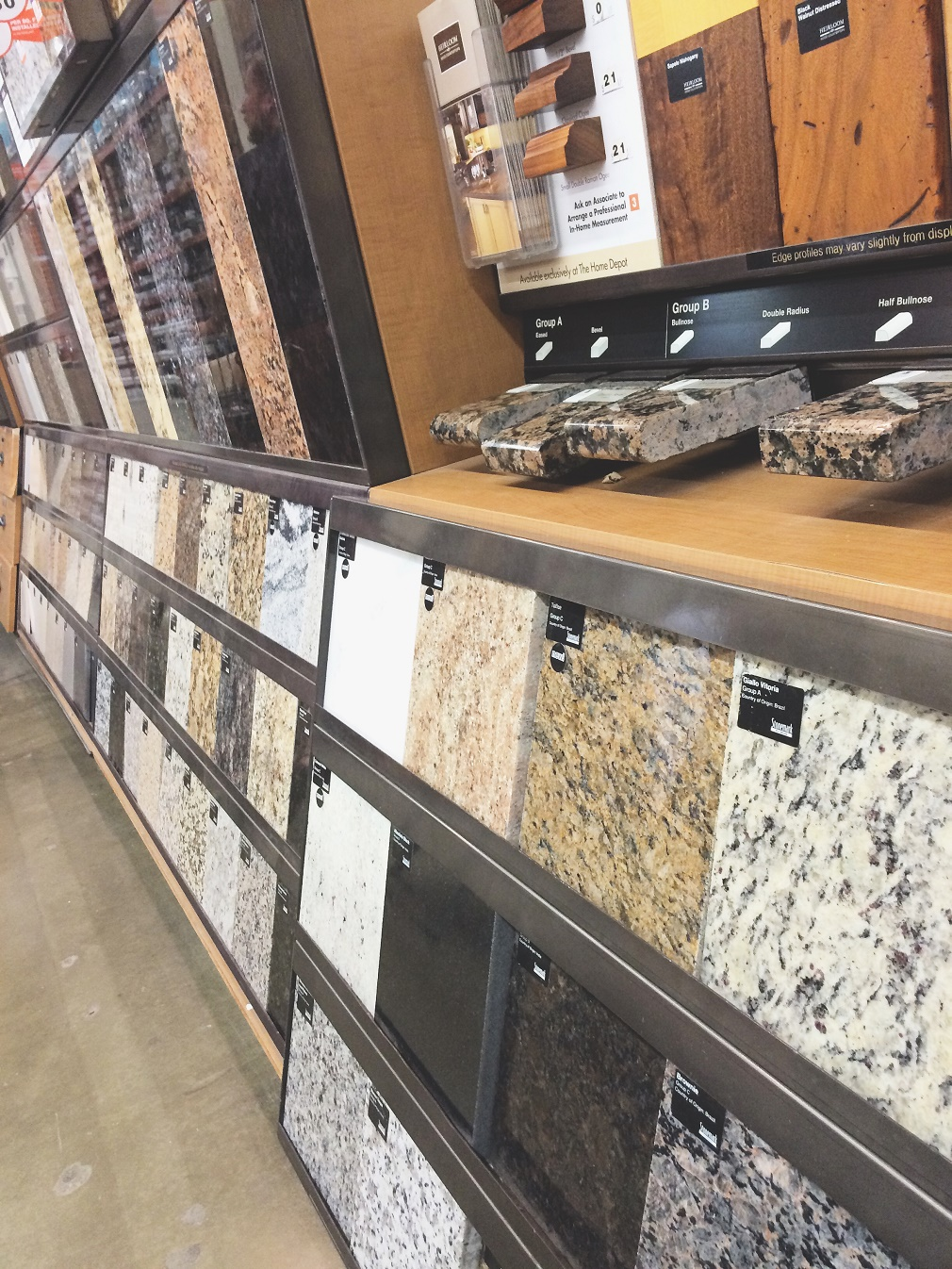 Countertops at Home Depot